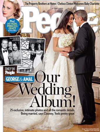 George Clooney & Amal Alamuddin's Wedding in Venice, Italy
