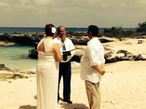 Island Weddings and Events First Wedding