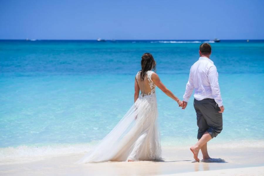 Barefoot on the Beach Wedding - 1