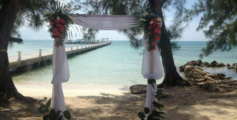 The Rum Point Restaurant Weddings